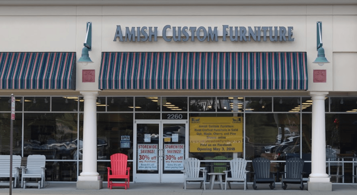 Amish Custom Furniture Exterior
